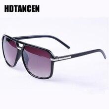 HDTANCEN Fashion Men Women Cool Square Style Gradient Sunglasses Driving Vintage