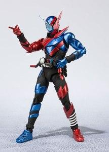 Image 4 - BANDAI figura Original de Tamashii Nations S.H., figura de motociclista Kamen Figuarts/figura de acción shf kamen Rider Build Rabbit forma de tanque