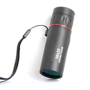 Image 4 - HD Optical 30 x 25 Monocular Zoom Telescope Low Night Vision Waterproof Mini Portable 7X Focus Telescope for Travel Hunting