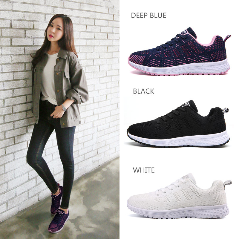 Air Cushion Original Breathable Sneakers Women Summer Springs Athletic Outdoor Sports Entertainment Shoes Women Running Shoes 2