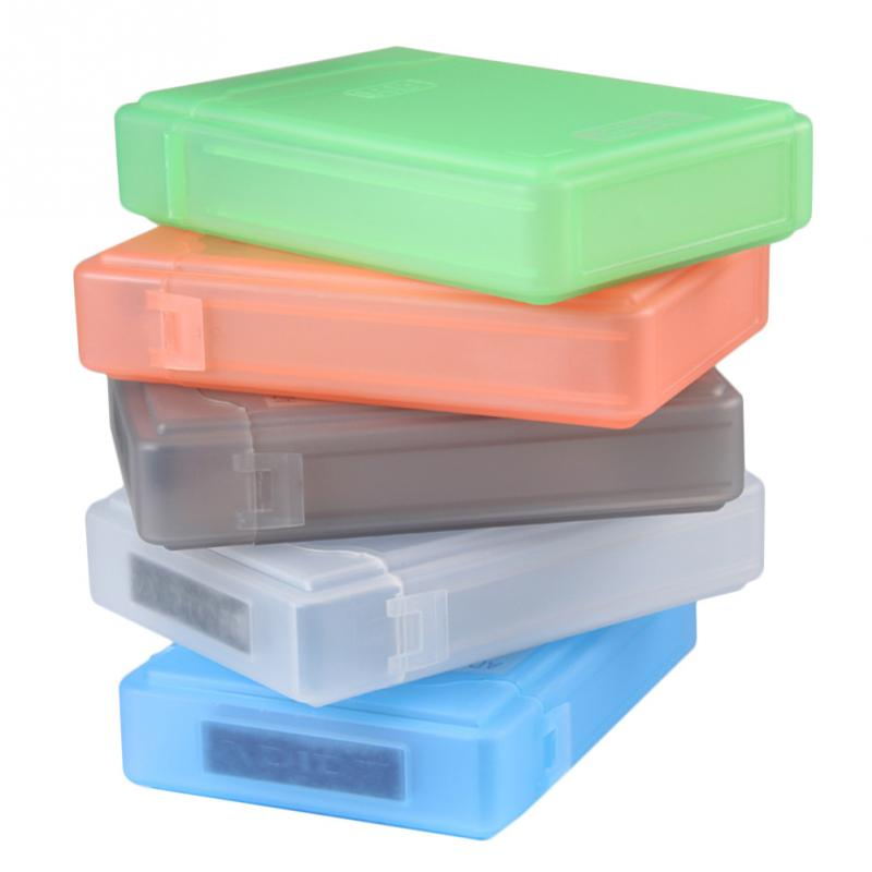 <font><b>3.5</b></font> Inch IDE <font><b>SATA</b></font> HDD caddy Case external <font><b>Hard</b></font> <font><b>Drive</b></font> Disk Storage Box For Hdd <font><b>enclosure</b></font> Cases Multi Color image