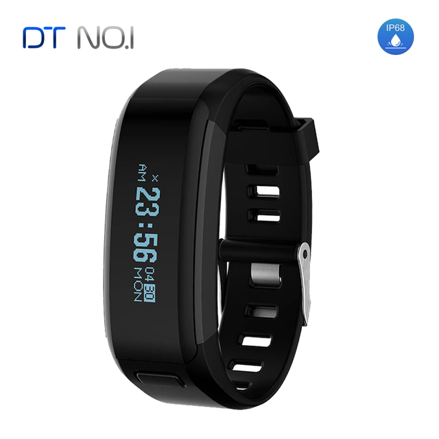 NO1 F1 Heart Rate Monitor Smart wristband Fitness Tracker IP68