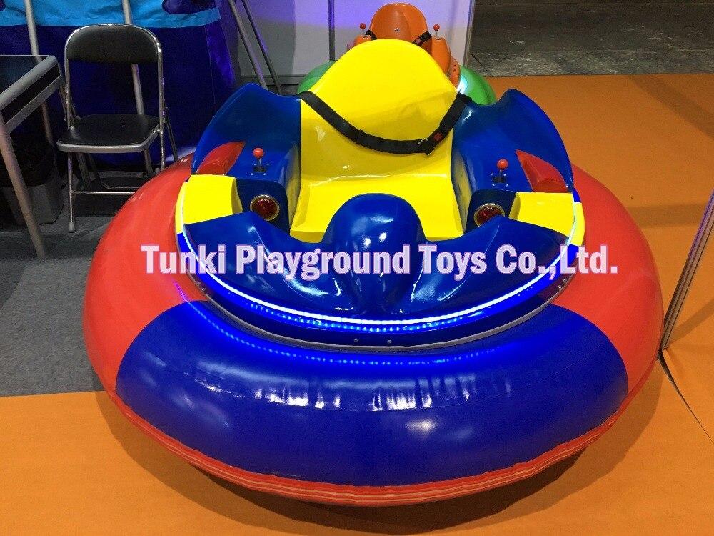 Надувной бампер автомобиль электрический автомобиль для детей ездить на стекловолокна езды детская игра