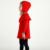 Nuevo 2016 Otoño Princesa de La Muchacha Vestido de Suéter de Punto Blanco Lindo Rojo de moda Del Bebé Cabritos Del Vestido de La Rodilla-Longitud Vestido Para Bebé vestido de la muchacha