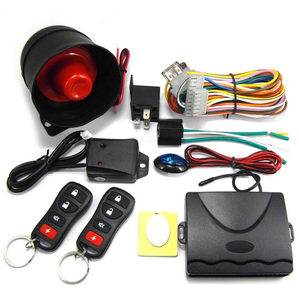 M802-8170 Car Security System Alarm Immo