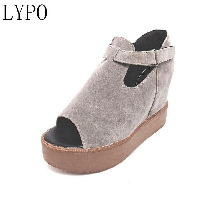 Fond épais Chaussures Casual Shoes Sandales de printemps Les nouveaux hommes 2n8zo2t