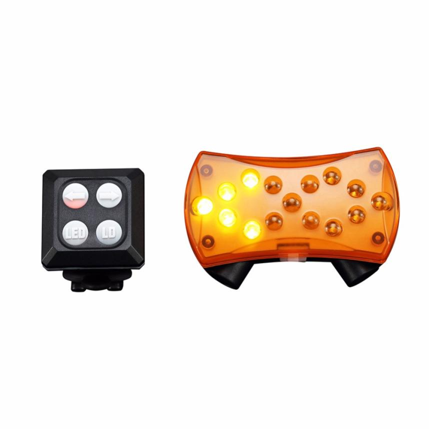 Wireless Control Turn Signal Lights Lamp For Bicycle Turning Bike Light Safety