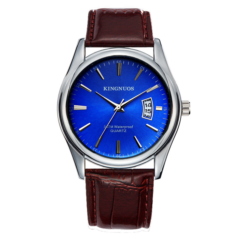 Relogio Masculino Men Watches Leather Business Formal Quartz Wristwatches Luxury Watch For Man Erkek Kol Saati New Fshion Clock ...
