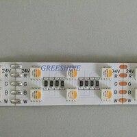 38 Вт RGBW rgbww 5050 Светодиодные полосы света DC 12 В 24 В 4 in1 свет не Водонепроницаемый 120LED /m крытый Открытый украшения дома 10 м/лот