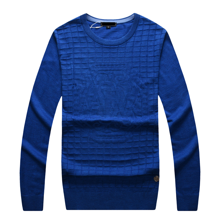 Billionaire wool Sweater men's 2019 new Fashion round neck casual commerce comfort embroidery design gentleman Free shipping