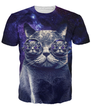 Summer style tshirts men/women Hipster Cat Print 3d t shirt funny cartoon Unisex t shirts camisa masculin Free shipping