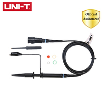 UNI-T UT-P04 Passive Probe Oscilloscope Cable 100MHz UTP04 Applies To UTD2000 Series Oscilloscope Part 4 8days arrival gwinstek oscilloscope probe gtp 100a 4 100mhz 10 1 1 1 switching passive probe bnc p m gds gos grs series