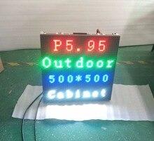 Открытый Шкаф Вися P3.91 P5.95 P4.81 Smd Светодиодный Дисплей