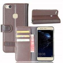 Для Huawei P10 Lite ТПУ чехол 5.2 дюймов люкс Ретро Настоящее Натуральная кожа бумажник флип держатель чехол для Huawei P10 Lite телефон сумка