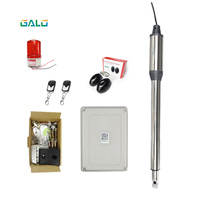 GALO Single Leaf Automatic Swing Gate Opener Motor With Remote Controls Photocell Alarm Light