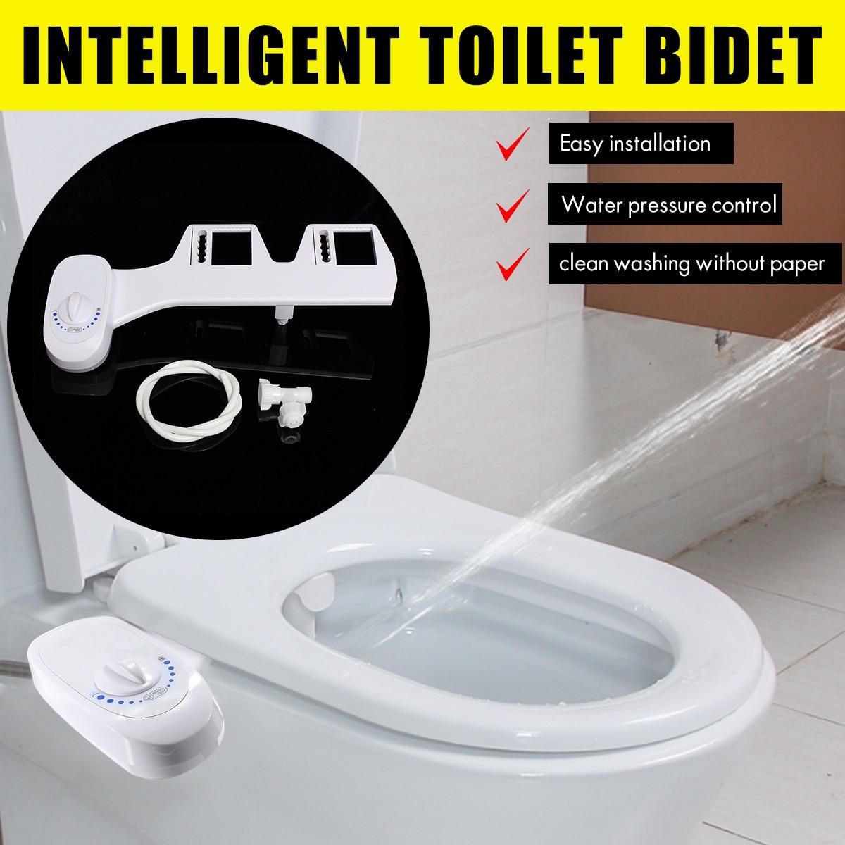 Xueqin Single Nozzle Bathroom Toilet Seat Bidet Sprayer Cold Water Non Electric Toilet Sprayer Nozzle Sprinkle  1/2  15/16Bidets   -
