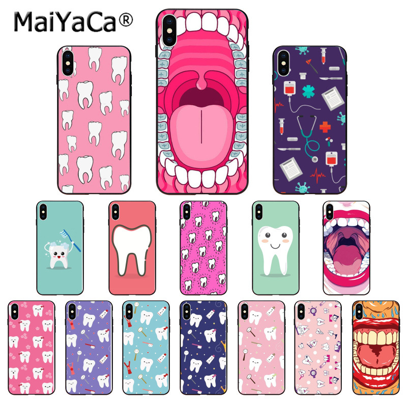 Half-wrapped Case Nurse Doctor Dentist Stethoscope Tooth Injections Phone Case For Meizu M6 M5 M5s M2 M3 M3s Mx4 Mx5 Mx6 Pro 6 5 U10 U20 Note Plus Phone Bags & Cases