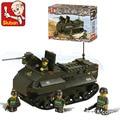 Модель строительство комплекты совместимы с lego военные Panzerfahre 3D блоки Образовательные модели здания игрушки хобби для детей