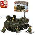 Kits de edificio modelo compatible con lego panzerfahre militar 3d modelo de construcción bloques educativos juguetes y pasatiempos para niños