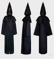 Stocking FFF Mihnah Group Team Uniform Cosplay Costume Hoodie Cloak Outfit Hat Full Set Halloween Costume