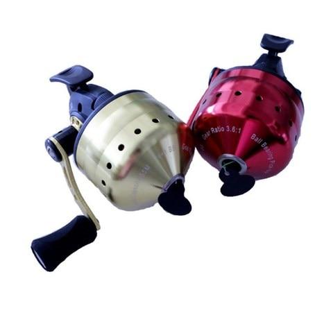 slingshot catapult tiro peixe carretel de pesca