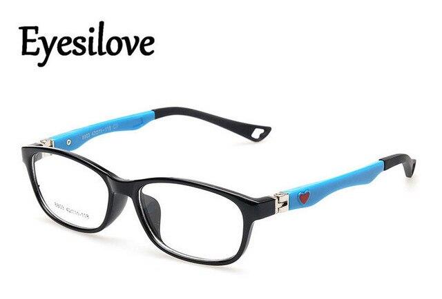 be4f2f7e2e5 Eyesilove (10pcs lot) Fashion plastic kids eyeglasses frames children  optical eyewear frame for