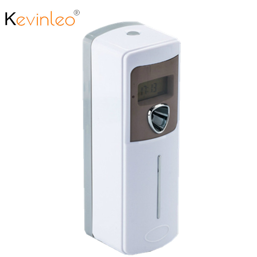 LCD Automatic Aerosol Dispenser Air Freshener Wall Mounted for Home Hotel Bathroom Toilet Fragrance Perfume Sprayer Machine car outlet perfume air freshener with thermometer lime