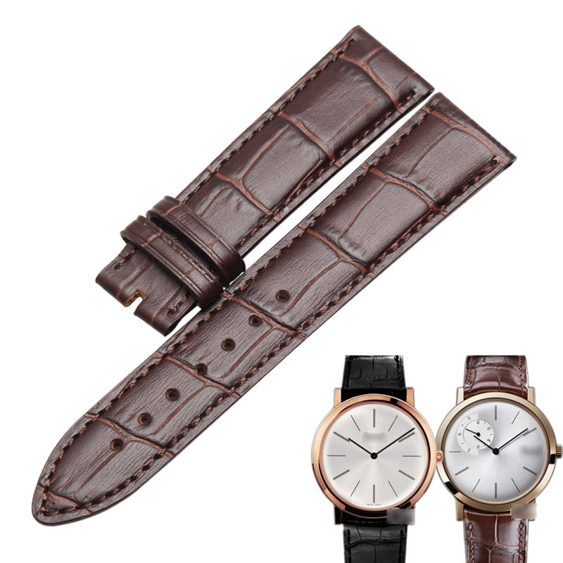 WENTULA watchband for PIAGET ALTIPLANO G0A29112 calf-leather band cow leather Genuine Leather leather strap watch band