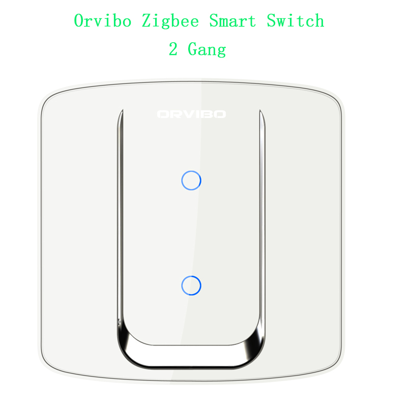 Orvibo Zigbee Wall light Smart switch Remote Control Touch glass home theater switches wireless Network with zigbee Mini Hub