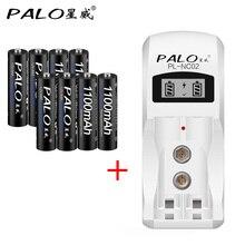 Carregador de Bateria para Aa e aaa Recarregáveis plus 8 Lcd com 2 Palo Display Slots Inteligente Nimh Nicd Baterias Pcs Aaa