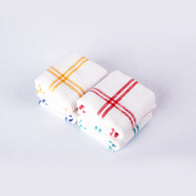 Highly Recommend QF116 Cross Stripes 35cm * 55cm 100% Cotton Kitchen Cloth