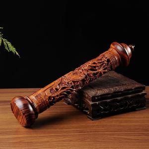 С Lanshan палочки с благовониями из сандала высота 29 см ручная работа Эбеновое Дерево Дракон Скульптура палка ладан горелка держатель