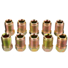 2019 New 10pcs/set 10mm x 1mm Male Short Brake Pipe Screw Nuts For 3/16 Metric Durable Bolts