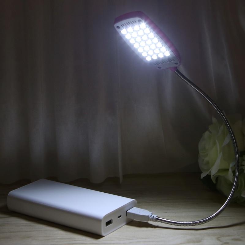 28 LED LED USB Mini Flexible Light Laptop Desktop PC Desk Reading with Button
