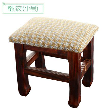 Astonishing Bench Simple Solid Wood Changing Shoes Stool Living Room Household Fabric Stylish Small Stool Lightweight But Super Sturdy Customarchery Wood Chair Design Ideas Customarcherynet