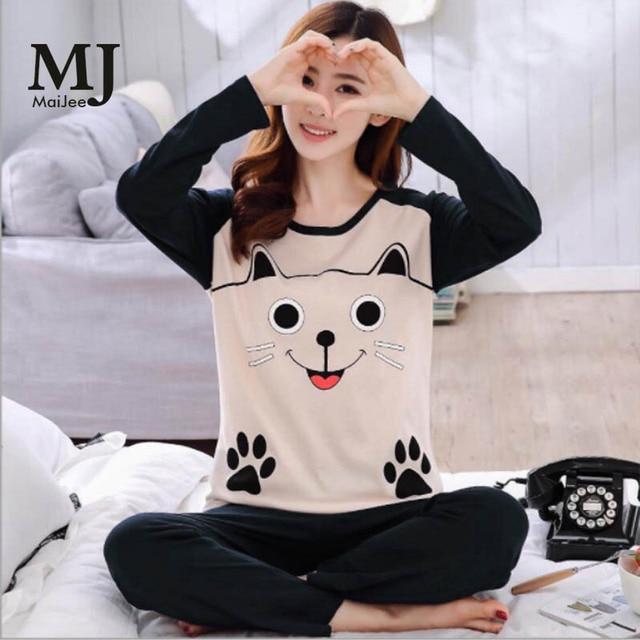 b94391c21d MJ072A Kawaii Pigiama Donna Primark pijamas de las mujeres conjuntos de Pijama  Mujer kigurumi Pijama femenino