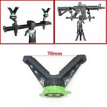 Uniwersalny statyw kamery strzelanie stojak na kij v yoke pistolet reszta/stojak adapter głowicy kulowej