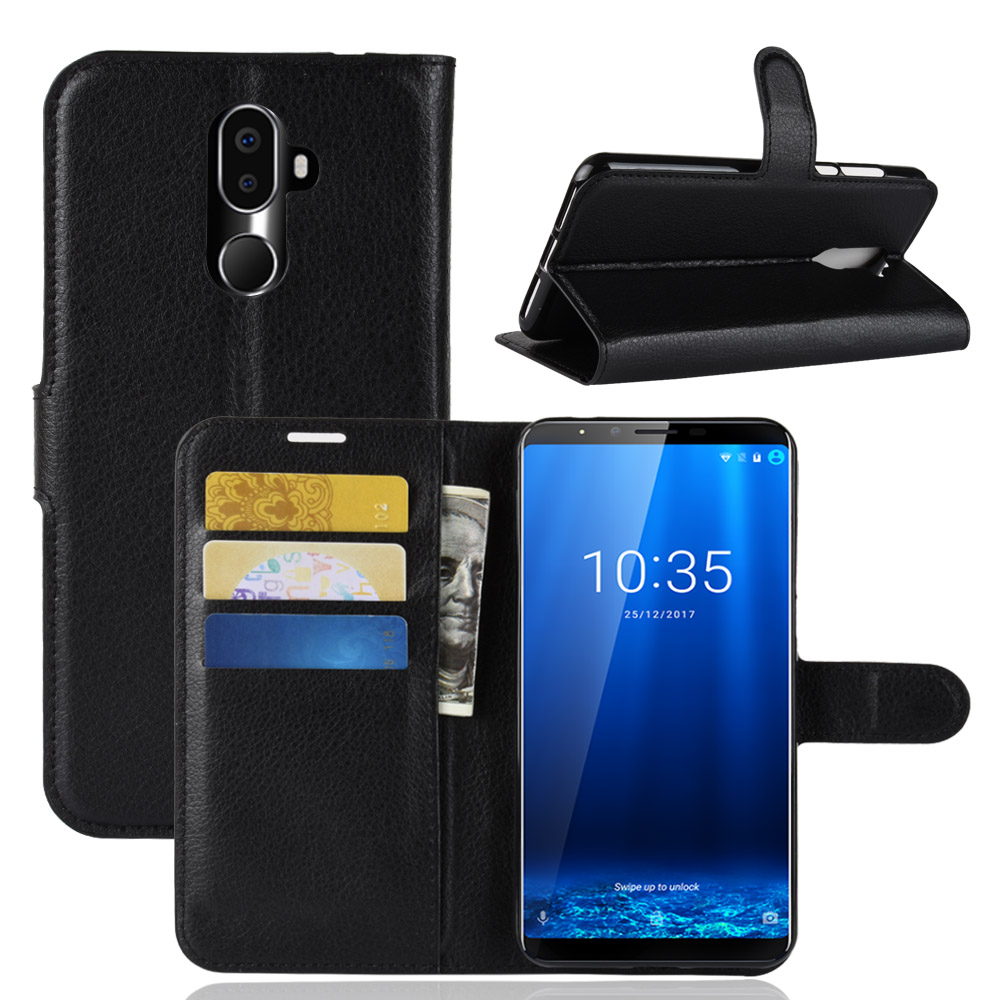 Phone Case For Cubot X19 X18 Plus Flip PU Leather Back Cover Silicone Case For Cubot X18plus Wallet Smartphone Bag Coque Funda(China)