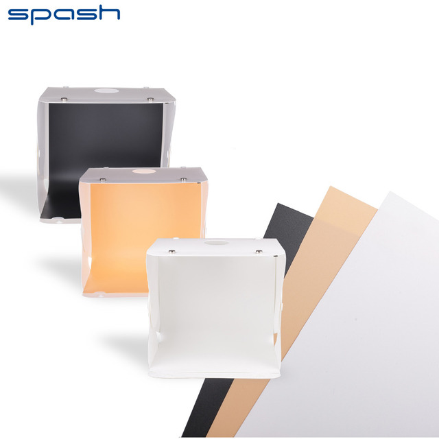 spash Folding Studio Softbox Lighting Tent Portable Photography Studio USB LED Light with Three Color Background  sc 1 st  AliExpress.com & spash Folding Studio Softbox Lighting Tent Portable Photography ...