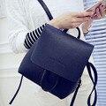 2016 small vintage PU leather back packs women backpacks famous designer school bag for girl Ladies High Quality Bolsa XA1018B