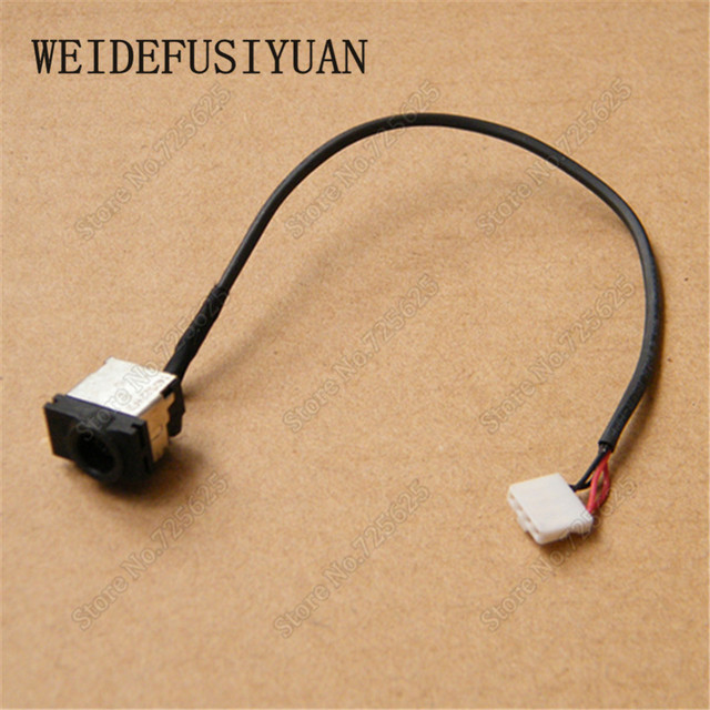 5pcs/lot dc power jack connector wire harness for samsung n120 n128 n130  r518 r519 r520 x420 r522 r620 q320 q330 q430 q460 p330