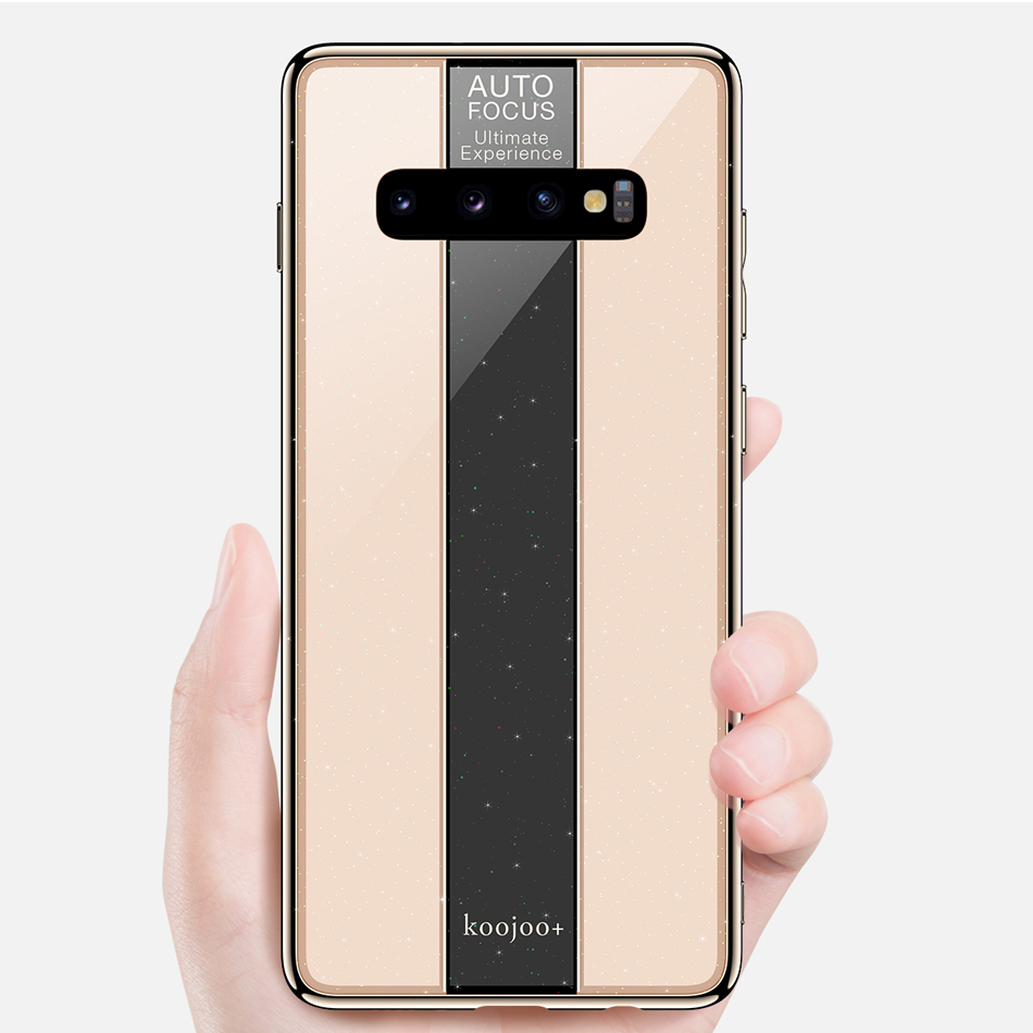 Case for <font><b>Samsung</b></font> Galaxy S10+ Case Galaxy S10 Plus Luxury Shockprof Plating TPU+PC Mirror Cover Case for <font><b>S10E</b></font> S10 Lite Funda <font><b>Capa</b></font> image