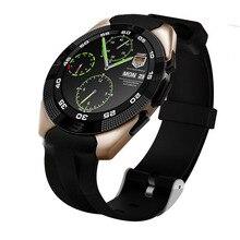 Lo nuevo No. 1 G5 Inteligente Reloj Bluetooth 4.0 Para Android y IOS 1.2 Pulgadas Ronda Completa Pantalla Podómetro Del Ritmo Cardíaco Monitor Smartwatch