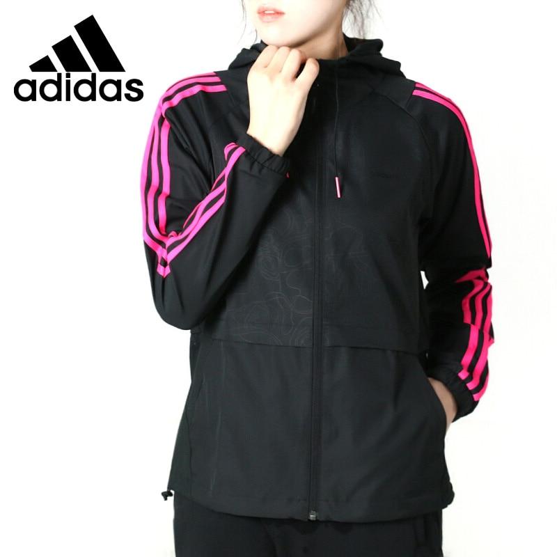 Original New Arrival 2018 Adidas Neo Label W CS WINDBREAKE Women's jacket Hooded Sportswear original new arrival 2018 adidas neo label w cs zip hoodie women s jacket hooded sportswear