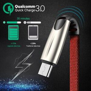 Image 2 - Olaf Cable Micro USB 3.0A para móvil, Cable de carga rápida para Samsung S7, S6, J7, Xiaomi Redmi Note 5, 4, Android
