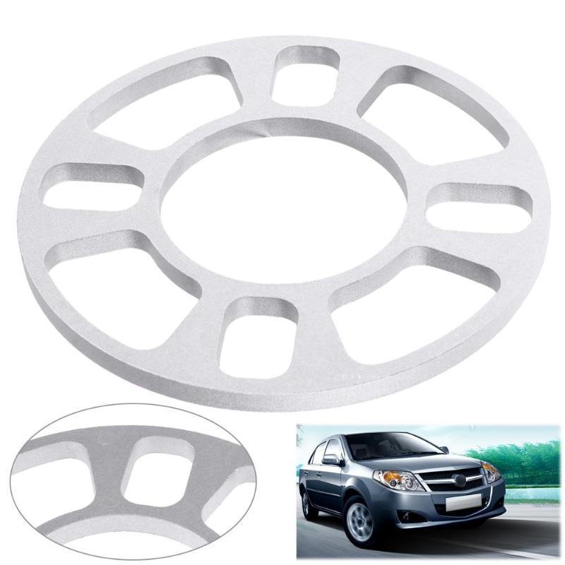 8mm Car Aluminum Alloy Wheel Spacer Gasket Wheels Tires Auto Parts For 4 Hole Wheel Hub 4X98 4X100 4X108 4X114 Car Accessories