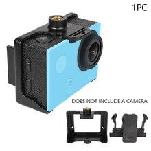 Kemer eylem taşınabilir kolay kurulum koruyucu fotoğraf aksesuarları montaj çerçeve kılıf spor kamera sırt çantası klip SJ4000 SJ9000