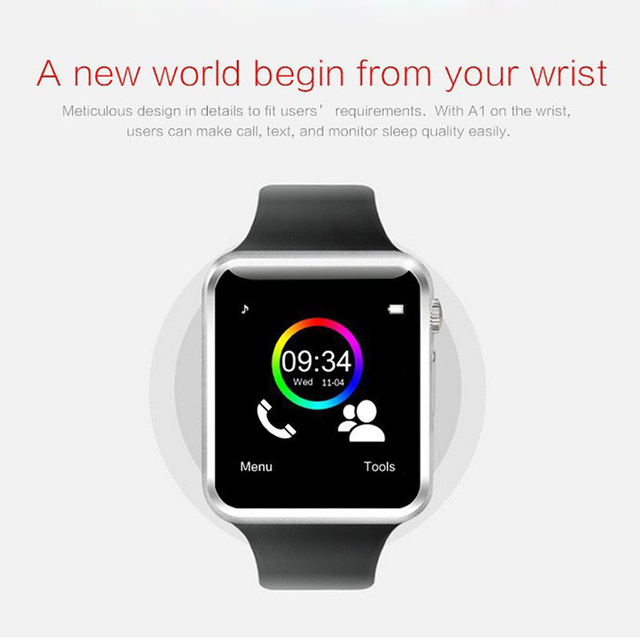 Bluetooth Wireless Speaker Sport Pedometer Smart Watch 4
