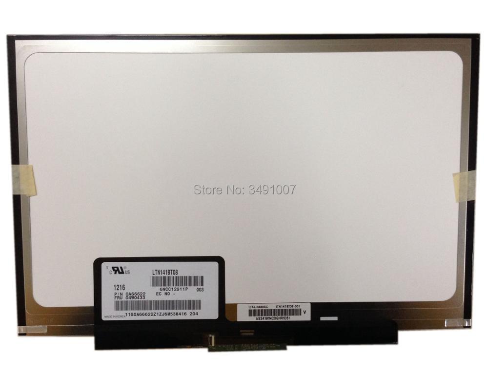 LTN141BT08 fit LT141DEQ8B00 écran LCD pour IBM Lenovo thinkpad T400S T410S nouveau