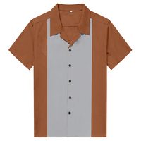 Spring/Summer Button Up Casual Shirts Rock N Roll Designer Party Club Wear For Men Short Sleeve Hip Hop Male Shirt